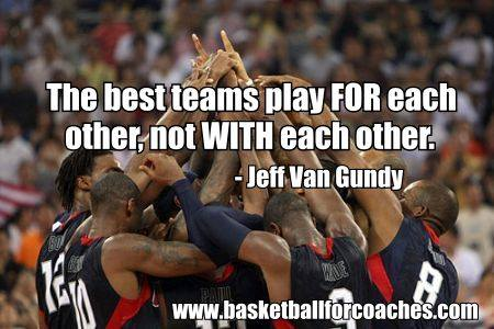 Jeff Van Gundy Quotes