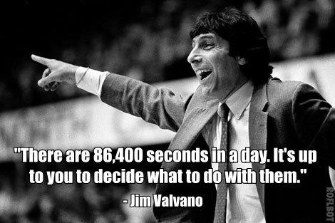 never give up jim valvano quotes quotesgram