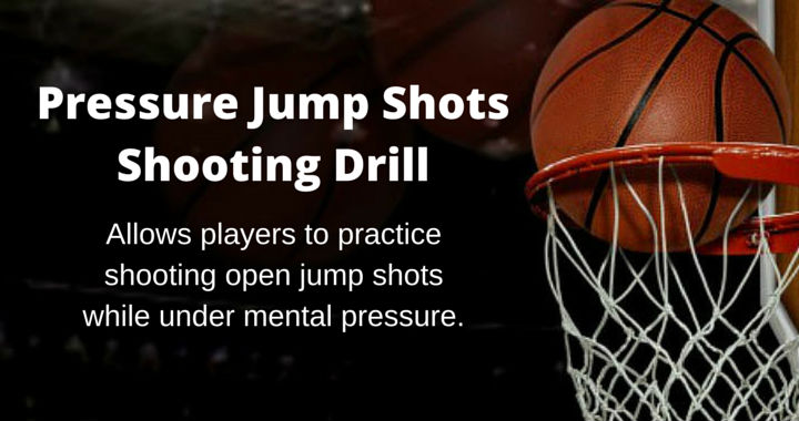 Pressure Jump Shots Shooting Drill