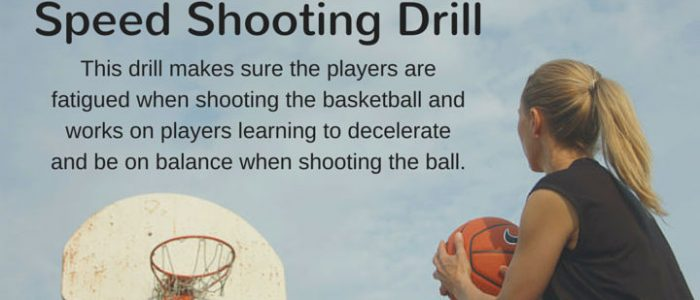 Speed Shooting Drill