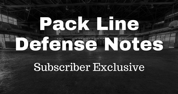 Pack Line Defense Notes