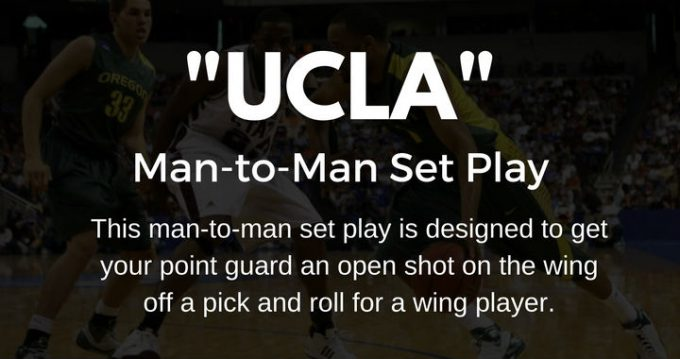 UCLA set play