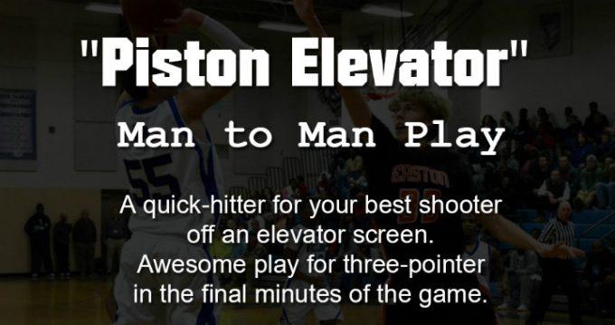 Piston Elevator - Man to Man Play