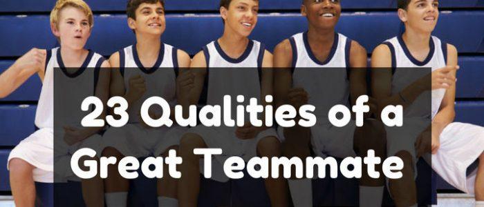 qualities-teammate