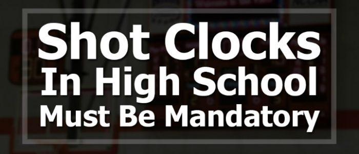 high school shot clock