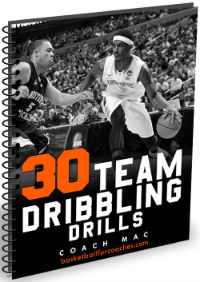 team dribbling drills