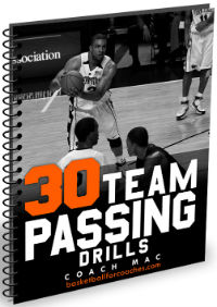 team passing drills