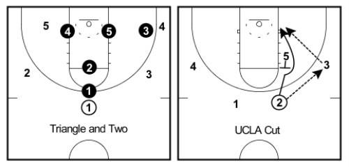 triangle and UCLA