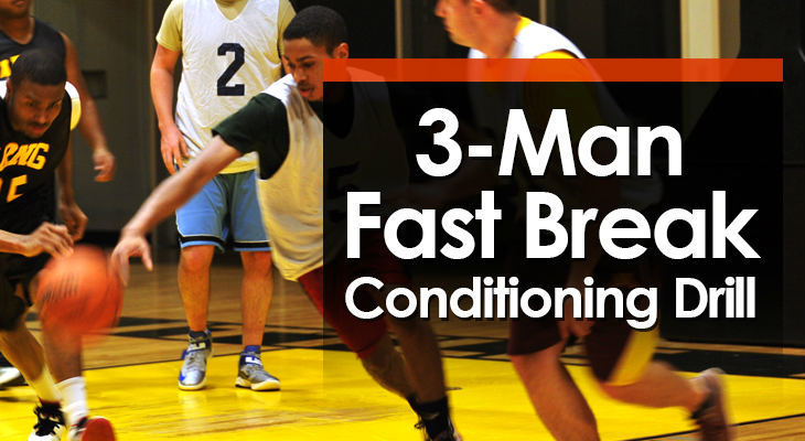 3-Man Fast Break Conditioning Drill feature image