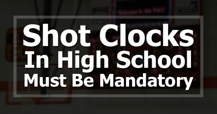 high school shot clock