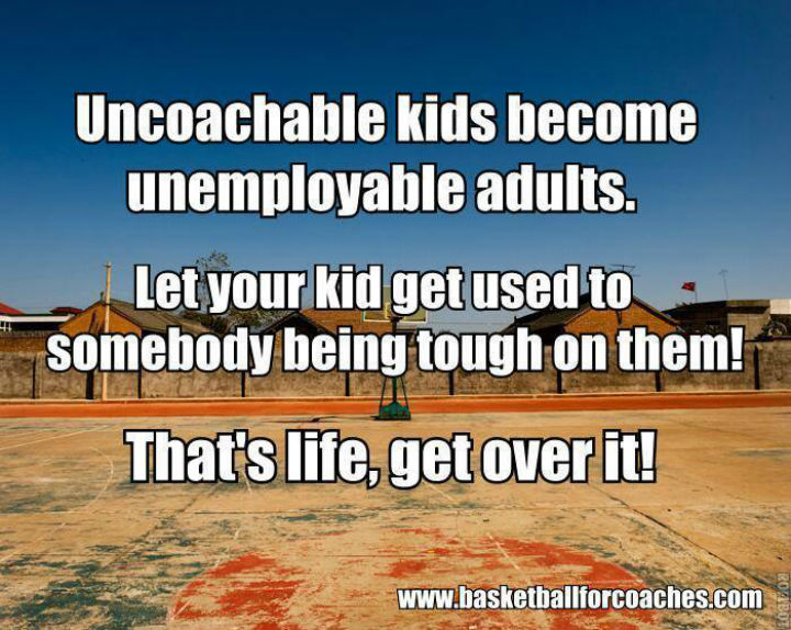 uncoachable kids