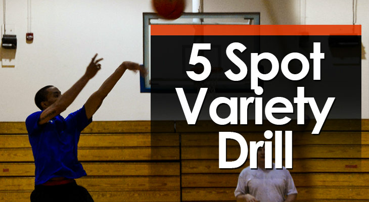 Drill #16 - 5 Spot Variety feature image
