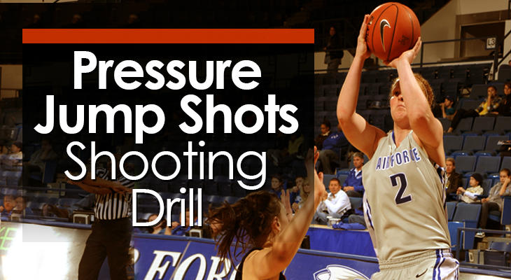 Drill #3 - Pressure Jump Shots Shooting Drilll feature image
