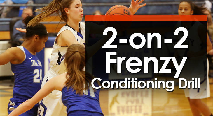 2-on-2 Frenzy Conditioning Drill