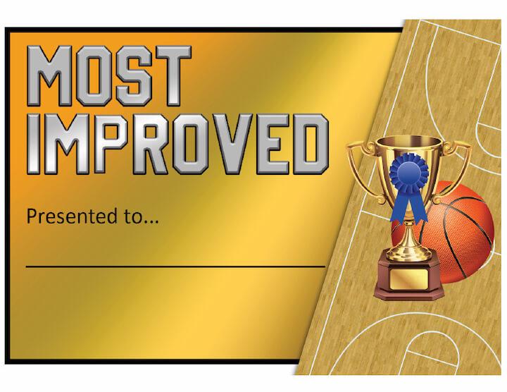 Most Improved Award